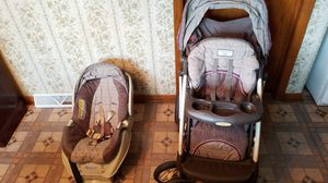 Laura Ashley Baby stroller and seat for Sale in Chicago, IL