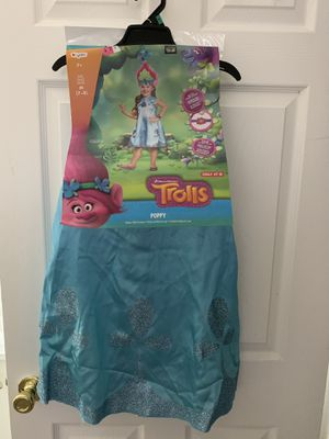 Poppy Deluxe Child Costume Trolls for Sale in Denver, CO