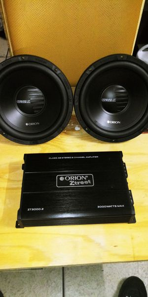 Orion Ztreet 3000 amp & subs for Sale in Tampa, FL