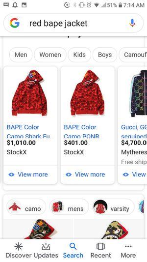 New bape jacket for Sale in Lancaster, CA