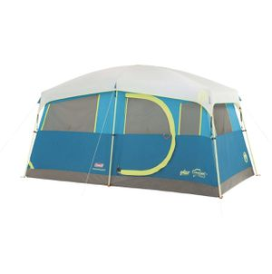Coleman Tenaya Lake Fast Pitch 8-Person Cabin Tent with Closet - Light Blue for Sale in San Jose, CA