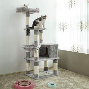Light Grey Cat Tree for Sale in Long Beach, CA
