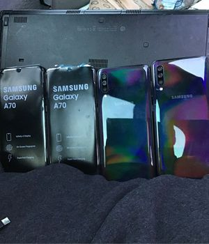 Samsung Galaxy A 70 Carrier Unlocked 128gb New New New Bought strait from Samsung for Sale in Sacramento, CA