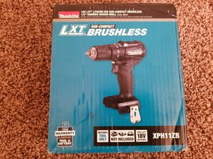 Makita 18-Volt LXT Lithium-Ion Sub-Compact Brushless Cordless 1/2 in. Hammer Driver Drill (Tool Only) for Sale in Modesto, CA