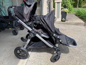 Baby Jogger City Select Double stroller! Lots of extras! for Sale in Vancouver, WA