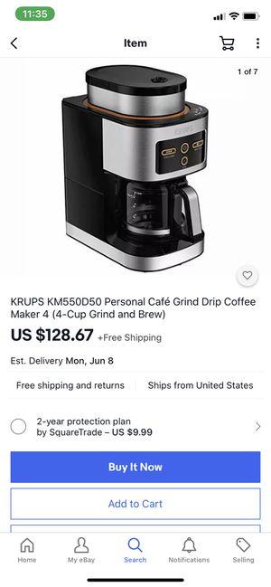 Krups coffee maker for Sale in Las Vegas, NV