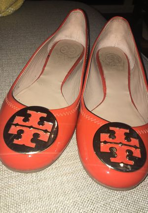 Tory Burch patent leather flats size 10 for Sale in San Diego, CA