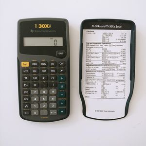 Texas Instruments TI-30Xa Scientific Student Calculator with Cover NEW Battery for Sale in Pembroke Pines, FL
