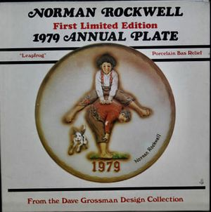 Norman Rockwell vintage 1979 plate for Sale in El Cajon, CA