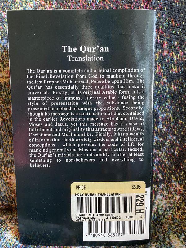 The Quarantine Translation by M H Shakir