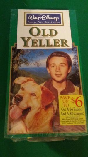 Disney's OLD YELLER (VHS) NEW! for Sale in Lewisville, TX