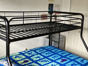 Full size bunk bed mattress not included ) for Sale in Willingboro, NJ