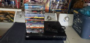 Sony blu ray player with remote and movies for Sale in Stockton, CA