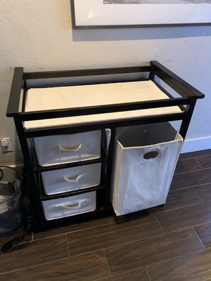 Changing table - Dark brown for Sale in Sunrise, FL