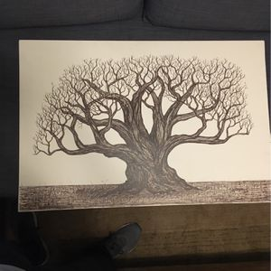 Canvas Tree Drawing for Sale in Tampa, FL