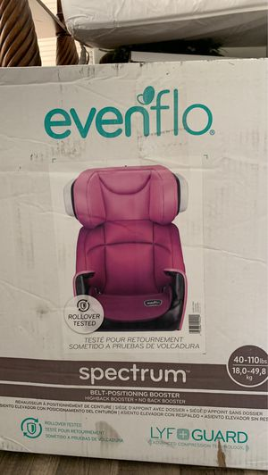 Evenflo Spectrum Booster Seat for Car for Sale in Euclid, OH