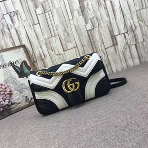 Gucci Marmont bag - black & white for Sale in New York, NY
