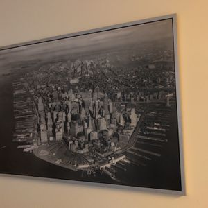 Giant black and white photo of Manhattan 1923 for Sale in Portland, OR