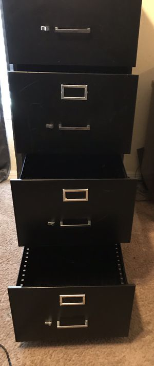 Large Four Drawer Filing Cabinet for Sale in Avon Park, FL