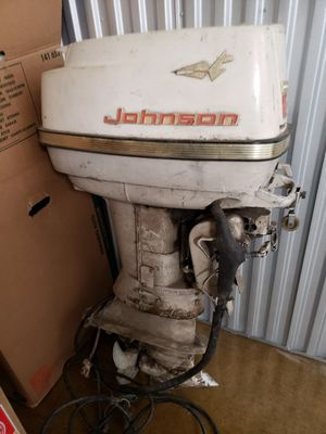 Johnson 60 Hp Outboard Motor for Sale in Dallas, TX