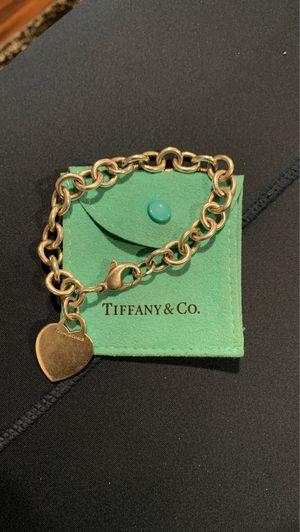 Tiffany & Co. Women's Heart Pendant Bracelet for Sale in Davenport, FL