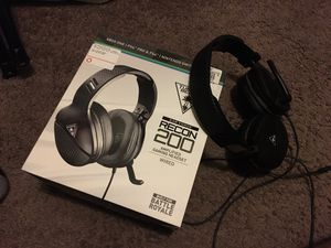 Turtle beach recon 200 headset for Sale in Saginaw, TX