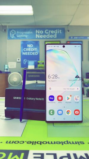Samsung Galaxy Note 10 256gb Factory Unlocked, Brand New in Box / Like New! 30 Days Store Warranty! for Sale in Arlington, TX