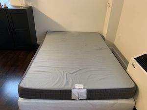 IKEA twin size bed with bed cover for Sale in Jersey City, NJ