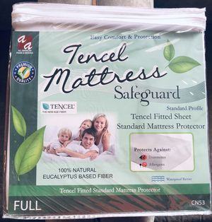 👍 Brand New Full Size Mattress Protector..! 100% Waterproof..!!👍 for Sale in Torrance, CA
