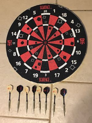 Scarface Double Sided Dartboard for Sale in Hacienda Heights, CA
