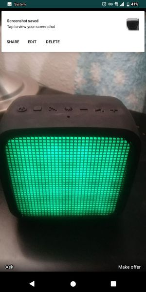Jam trance mini Bluetooth speaker waterproof rechargeable for Sale in Tacoma, WA