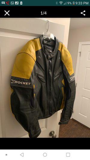 Joe Rocket size 46 motorcycle leather jacket for Sale in Germantown, MD