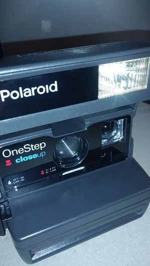 Vintage Polaroid One Step Close Up 600 Instant Film Camera for Sale in Hawthorne, CA