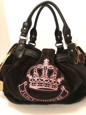 Juicy Couture Large Velvet Handbag for Sale in El Paso, TX