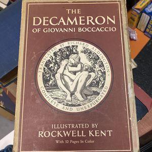 The Decameron of Giovanni Boccaccio Book Set for Sale in Crestview, FL
