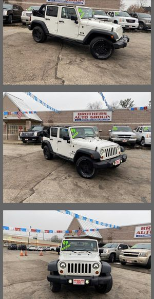 2009 JEEP WRANGLER UNLIMITED for Sale in Youngstown, OH
