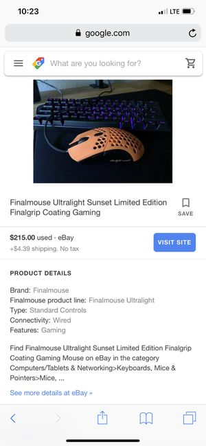 Gaming PC mouse and keyboard for Sale in Cheney, WA