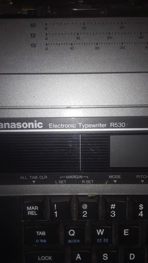 Panasonic Electronic Type Writer R530 for Sale in Palo Alto, CA