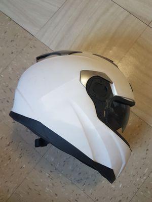 Safety moto bike scooter helmet build in visor for Sale in New York, NY