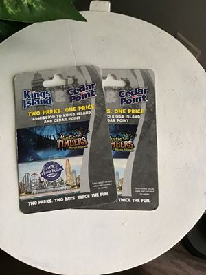 Cedar Point Tickets for Sale in Cambridge, OH