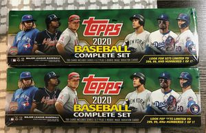 2020 TOPPS BASEBALL COMPLETE FACTORY SET- Series 1 and 2= 700 cards⚾ LOT OF 2 for Sale in Fort Myers, FL