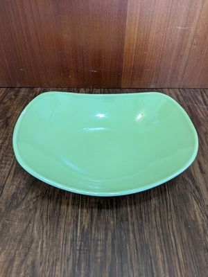 Main Street Harmony House by Salem Chartreuse Serving Dish 1950s Vintage for Sale in Miramar, FL