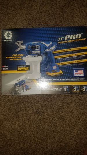 Graco airless cordless paint sprayer for Sale in San Antonio, TX