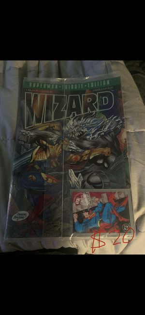 Rare Wizard Comic with card for Sale in West Richland, WA