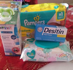 Pampers set for Sale in Adelanto, CA