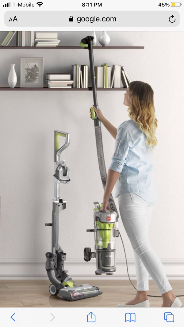 Hoover Air Lift Deluxe UH72511 Upright Vacuum - Bagless - HEPA