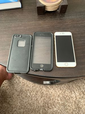 iPhone 6S 64GB with Lifeproof Case for Sale in Columbia, MO