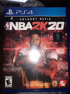 Nba 2k20 ps4 for Sale in New York, NY