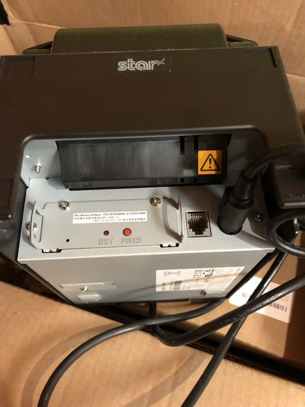 Star thermal printer TSP650III Bluetooth printer