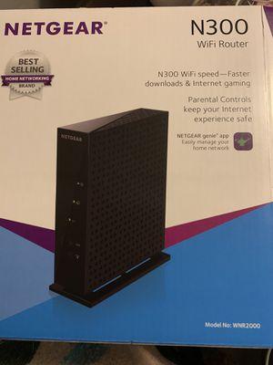 Netgear N300 Wifi Router for Sale in Fort McDowell, AZ